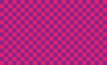 日本の伝統文様 市松模様 ピンク 紫 チェック柄 背景素材
