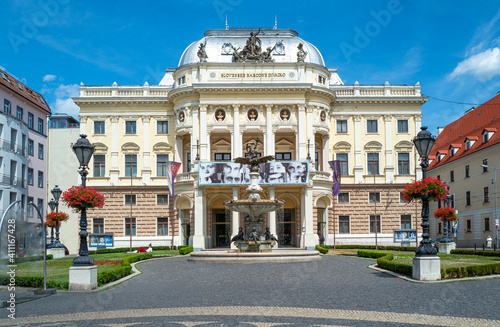 Wallpaper Mural Bratislava and its elegant architecture