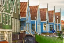 Modern Architecture In Zaandam, The Netherlands.