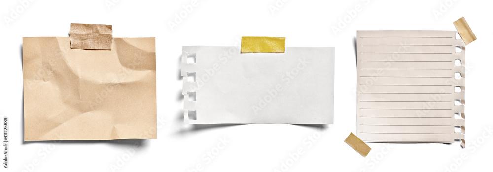 Fototapeta note paper blank sign tag label