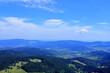 widok ze szczytu góry