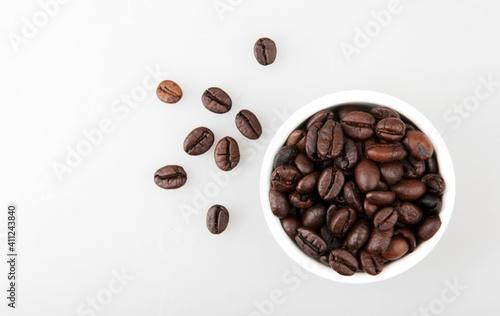 Coffee Beans Isolated On White © vladimir nenov/EyeEm