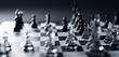 Chess game. Strategic desicion making. Plan and competition
