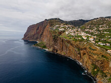 View Towards Cabo Girao, One Of The Highest Cliffs Of The World - Madeira, Portugal