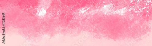 Abstract Pink water color texture background Fototapet