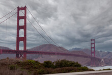 Stormy Afternoon At Golden Gate Bridge