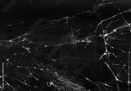 Canvas Print Fractured background