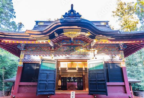 Fotografering 群馬県富岡市 一之宮貫前神社 拝殿(重要文化財) 日本