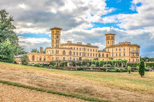 Osborne House On The Isle Of Wight.Osborn House Was Completed In 1851 For Queen Victoria Who Used It As Her Summer Home.