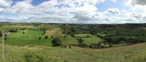 Photo Panoramic View Of Landscape Against Sky