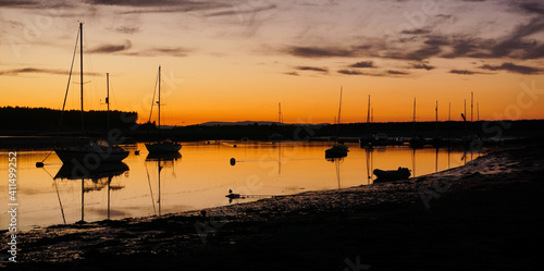 Photo Findhorn Sunset - Oct 2020