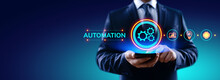 Business Process Automation Industrial Technology Innovation Optimisation Concept
