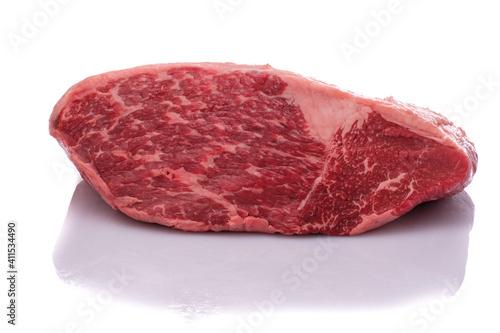 Fotografija Raw wagyu roast beef from the haunch