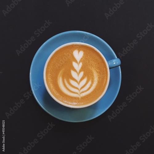 Fotografiet Close-up Of Cappuccino