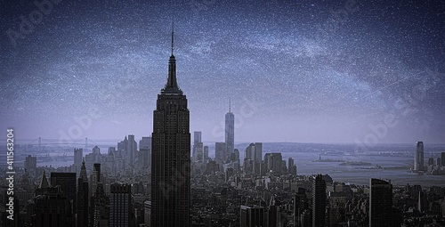 Photo Empire State Building Against Sky