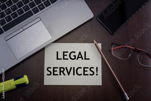 Photo Legal services card