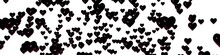 Black Glossy 3d Hearts On A White Background. St. Valentine's Day. Themes Of Love And Romance. Chaotic Location. Feelings And Emotions.