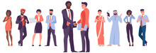 Diverse Business People Shake Hands