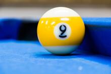 Bola 9 De Billar Pool, Jugando Pool, Mesa De Billar