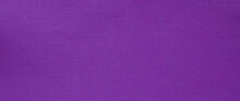 Purple Background. Close Up View Of Purple Fabric Texture And Background. Abstract Background