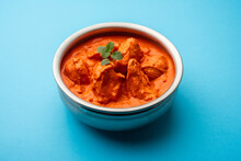 Indian Asian Chicken Tikka Masala Spicy Non Vegetarian Dish