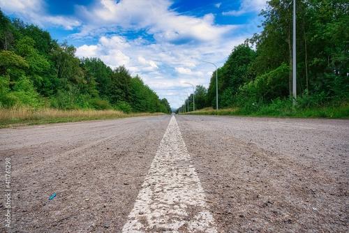 Fotografia Autoroute déserte