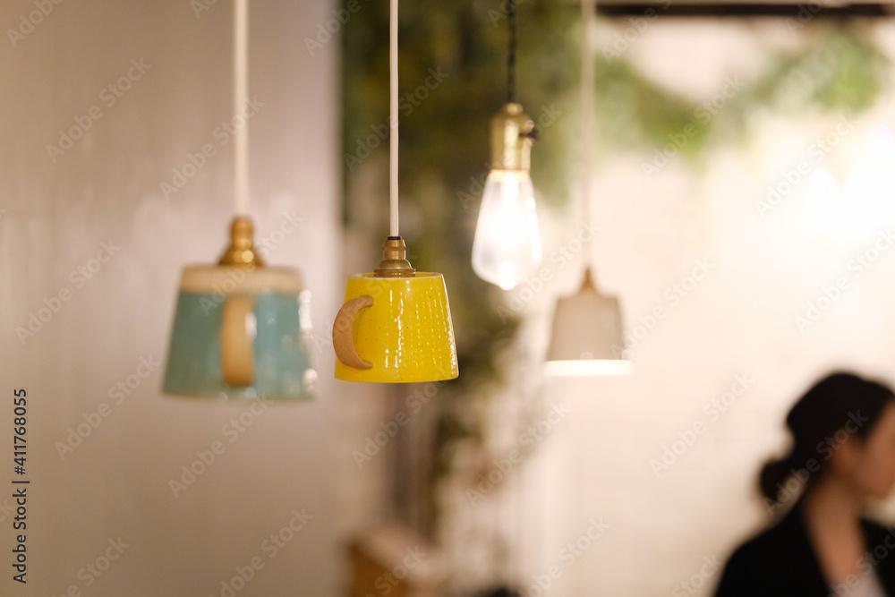 Fototapeta hanging lamp