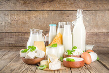 Various Farm Dairy Products