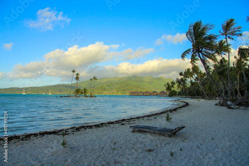 Fotografia Plage tahitienne