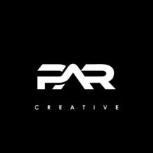 PAR Letter Initial Logo Design Template Vector Illustration