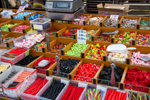 Candy Store At A Flea Market