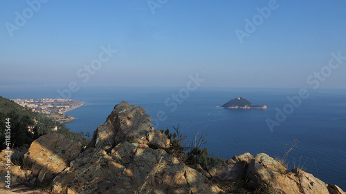Canvas Print Scenic View Of Sea Against Sky