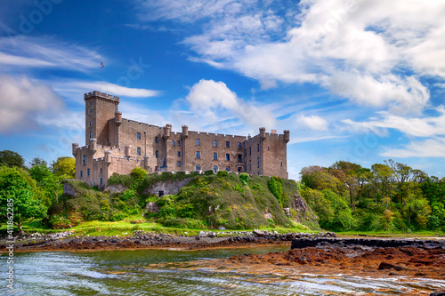 Fotografie, Obraz Dunvegan castle on the Isle of Skye, Scotland