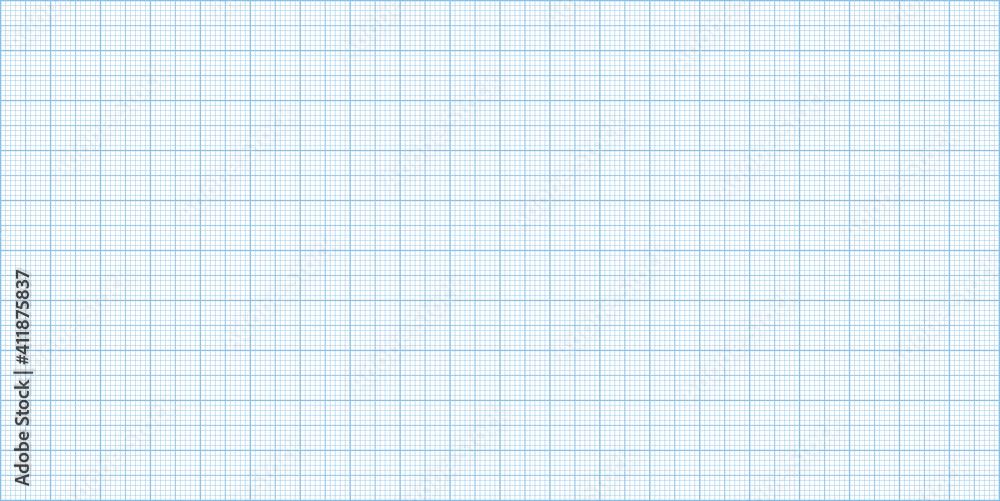 Fototapeta Graph paper background