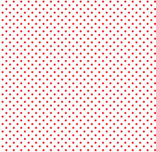 Red Small Polka Dots, Seamless Background. EPS 10 Vector.
