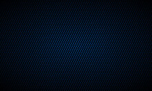 Dark Blue Background. Dark Metal Texture Steel Background. Navy Blue Carbon Fiber Texture. Web Design Template Vector Illustration EPS 10.