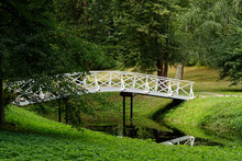 White Arched Bridge.