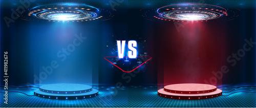 Valokuva VS, Versus futuristic design