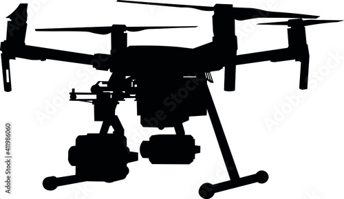 Tablou Canvas Drone, unmanned aerial vehicle, robot, camera