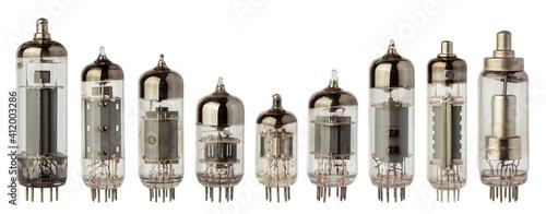 Fotografering Vacuum electronic radio tubes