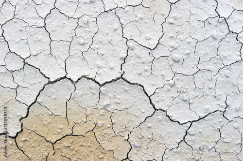 Papel de parede Full Frame Shot Of Cracked Land