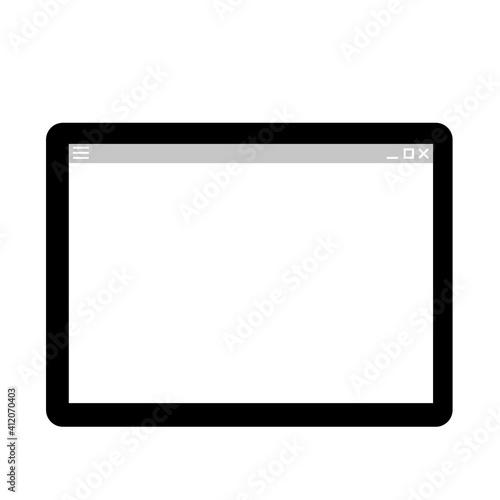 Fototapeta タブレットPC obraz na płótnie