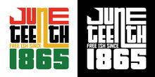 Juneteenth Free Ish Since 1865 SVG Cut File | Black History | Independence Day | African American T-shirt Design
