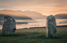 Sunrise Over The Old Standing Stones
