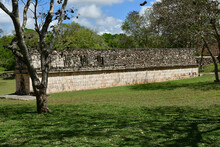 Uxmal; United Mexican State - May 18 2018 : Pre Columbian Site