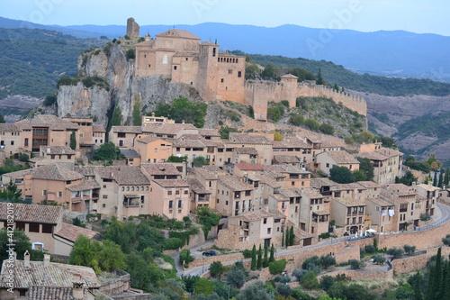 Платно Visita a la preciosa Villa medieval de Alquezar,Huesca,Aragón,España