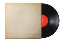 古い紙のレコードジャケットに入ったアナログ盤のレコード