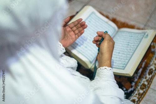 Woman Is Praying