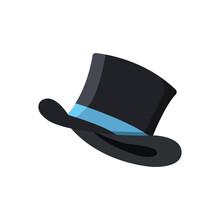 Magic Hat Icon Design Vector Template