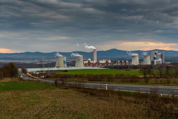 Elektrownia Turów, Bogatynia, Polska, Kopalnia odkrywkowa węgla brunatnego
